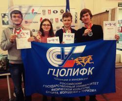 Награждение команды РГУФКСМиТ по шахматам за 2 место!